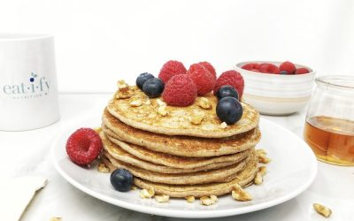 The Best Protein Packed Pancakes